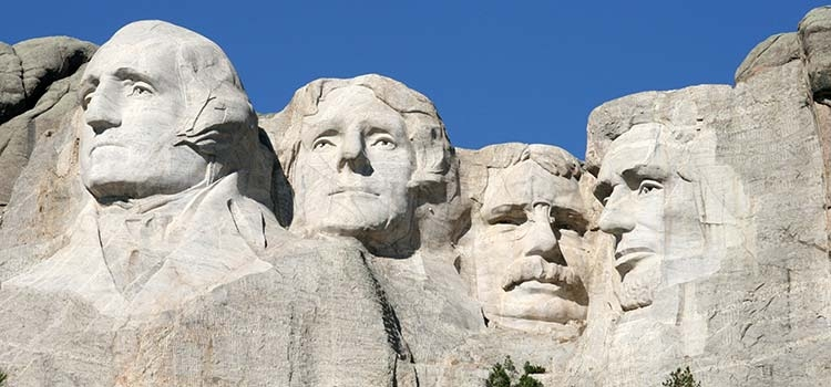 Mount Rushmore National Memorial - Photo by SD Tourism