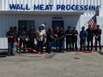 Wall Meat Processing reopens