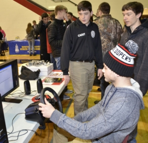 SBHS students learn from reverse career day