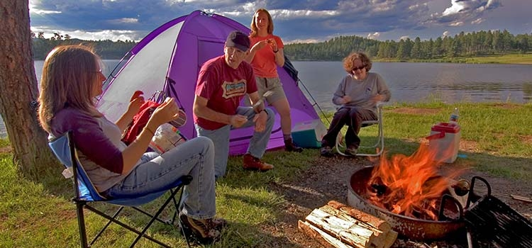 Camping in the Rushmore Region - Photo by SD Tourism