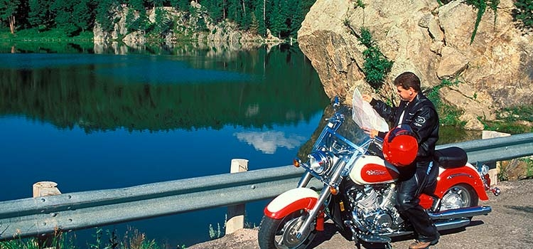 Motorcycling in the Rushmore Region - Photo by SD Tourism