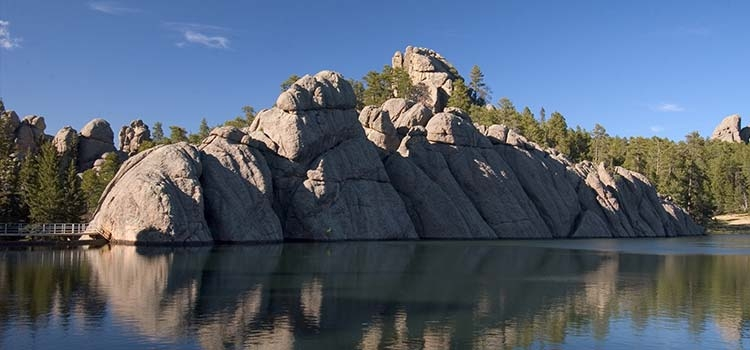 Sylvan Lake - Photo by SD Tourism